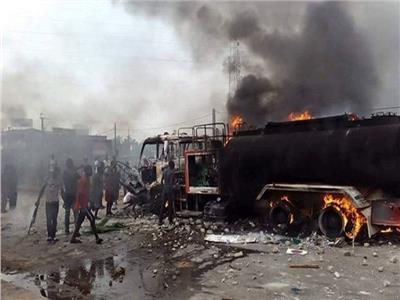 تصادم حافلة نفط غرب الكونغو