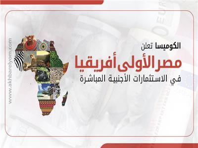 الكوميسا تعلن مصر الأولى أفريقيا في الاستثمارات الأجنبية المباشرة