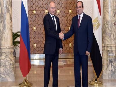 الرئيس السيسي ونظيره الروسي فلاديمير بوتين