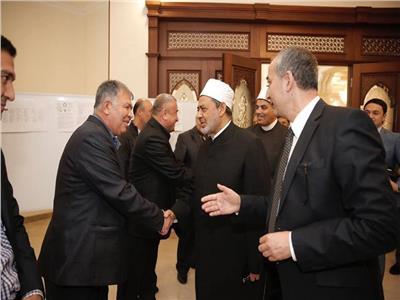 شيخ الأزهر يزور معهد البيروني للمخطوطات في طشقند