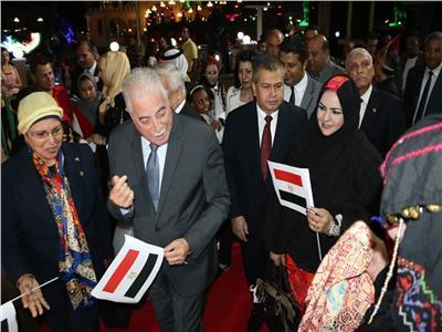 محافظ جنوب سيناء و سفير دولة اندونيسيا يشاركان فى احتفالية اليوم المصرى الاندونيسى
