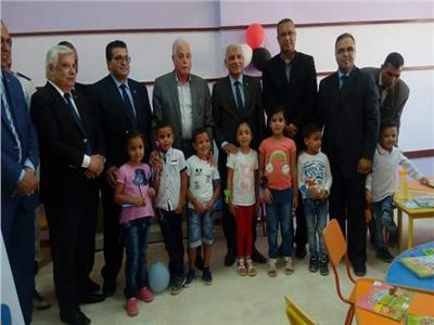 فودة يفتتح المدرسة المصرية اليابانية بطور سيناء .