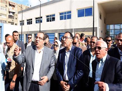 صورة من جولة رئيس الوزراء بمحافظة بورسعيد
