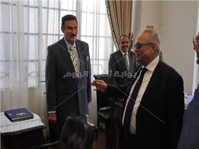 المستشار بهاء الدين ابو شقه رئيس حزب الوفد