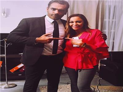 داليا البحيري وأحمد كرارة