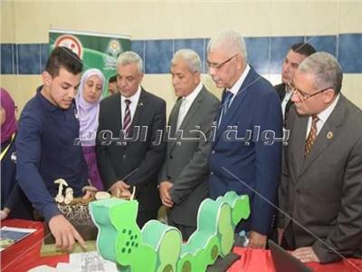جامعة المنوفية تفتتح معرضا طلابيا حول انتصار أكتوبر