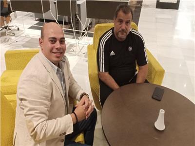 زكريني مع محرر بوابة أخبار اليوم في الجزائر