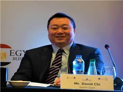 ديفيد شى نائب الرئيس والمدير العام لشركة اباتشى الأمريكية بمصر