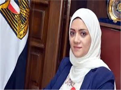 الدكتورة ايمان ريان نائب محافظ القليوبية