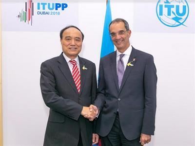 وزير الاتصالات يلتقي الأمين العام للاتحاد الدولي للاتصالات