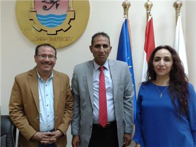جامعة أسوان تشارك في مهرجان طيبة للفنون