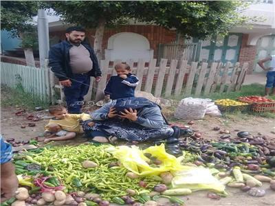 كريمة حمدان سعد بائعة الخضروات