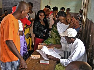 صورة من الانتخابات
