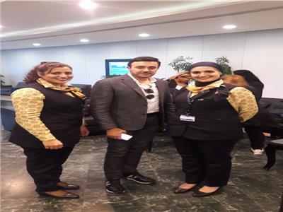 صابر الرباعي  يصل القاهرة لإحياء حفل بمهرجان الموسيقى العربية