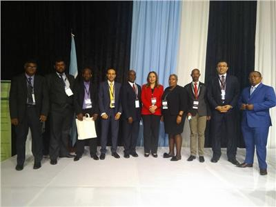 خلال المشاركة في مسابقة المنظمة الإفريقية