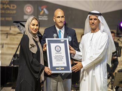 مهرجان التسامح في الامارات لتسجيل رقم جديد بموسوعة جينتس