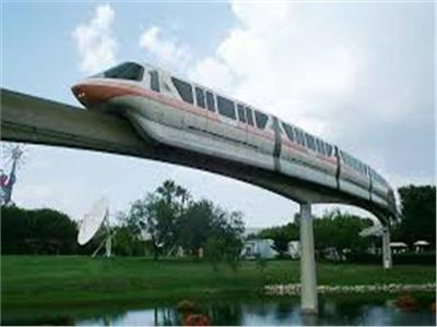 القطار المعلق «المونوريل»
