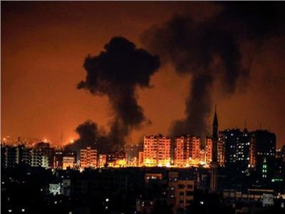 صورة أرشيفية لقصفة غزة