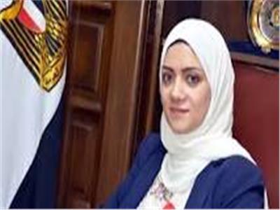 الدكتورة ايمان ريان نائب محافظ القليوبلية