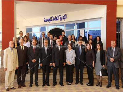 محافظ المنوفية يشهد إفتتاح المركز الجامعي للتطوير الوظيفى بمدينة السادات