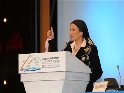 وزيرة البيئة د ياسمين فؤاد