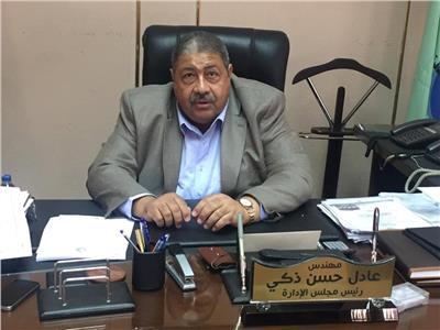 المهندس عادل حسن رئيس شركة صرف صحي القاهرة
