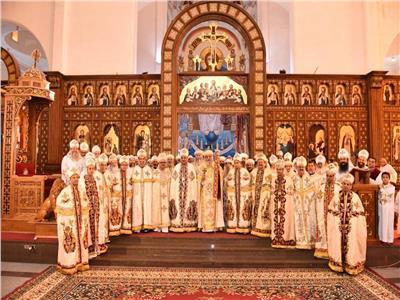 بيد قداسة البابا.. سيامة ١٣ كاهن جديد