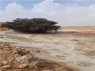 آثار السيول التي تعرضت لها جنوب سيناء