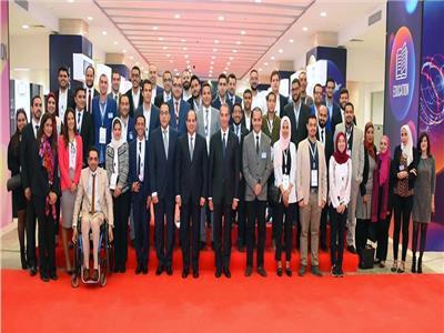 «السيسي» يشهد فعاليات افتتاح معرض القاهرة الدولي للاتصالات