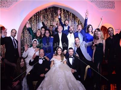 نجوم الفن في حفل زفاف ابنة صلاح عبد الله