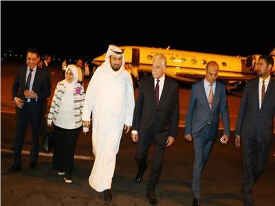 «فودة» يستقبل وزيري الصحة والعمل الكويتيين بمطار شرم الشيخ