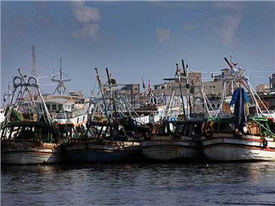 صورة تعبيرية لتوقف مراكب الصيد