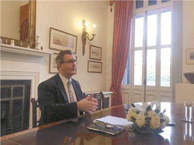 المبعوث الخاص لرئيسة الوزراء البريطانية للتجارة مع مصر