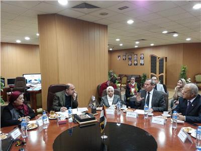 اجتماع دعم الحملة برئاسة الدكتور المليجي