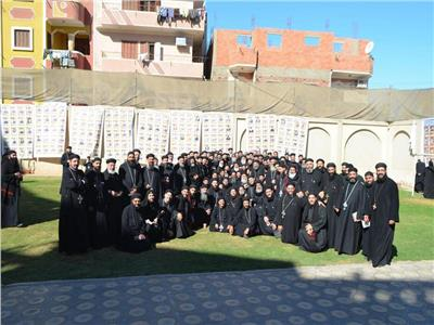 كهنة إيبارشية المنيا وأبوقرقاص يعقدون مؤتمرهم النصف سنوي
