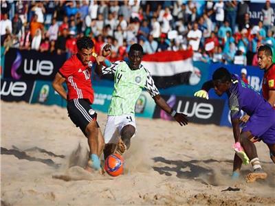 مصر ونيجيريا للكرة الشاطئية