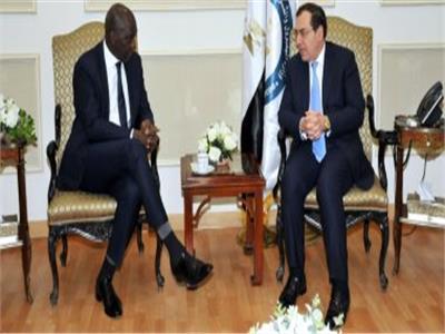 وزير البترول يلتقى نائب رئيس البنك الدولى