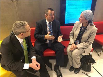 وزيرة البيئة تلتقى نظيرها البيلاروسى لتفعيل مذكرة التفاهم الموقعة بين البلدين
