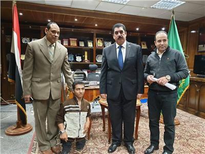 محافظ القليوبية يستقبل محمد عبد النبي