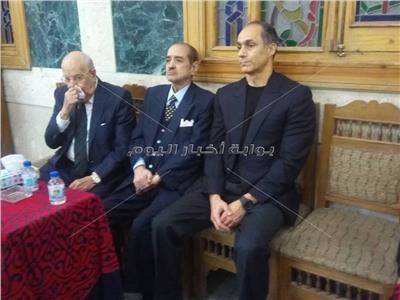 جمال مبارك في العزاء