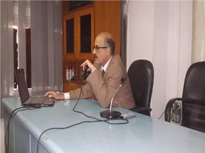 د هشام عبد الدايم- عميد معهد الكبد القومى بالمنوفية