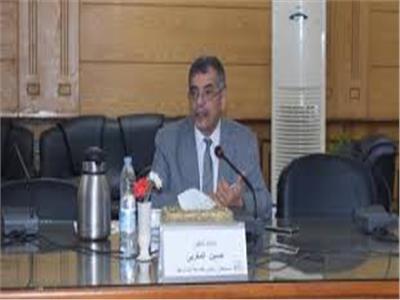 الدكتور حسين المغربي رئيس جامعة بنها