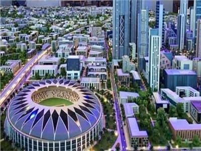 ماكت «العاصمة الأدارية الجديدة»