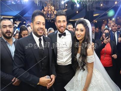 حماقي مع العروسين