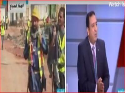 العميد خالد الحسيني، المتحدث باسم شركة العاصمة الإدارية الجديدة