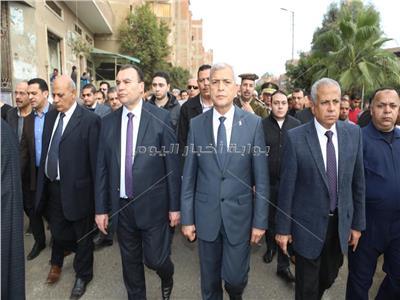 محافظ المنوفية ومدير الأمن يتقدمان جنازة اللواء عصام عيسي الخولي