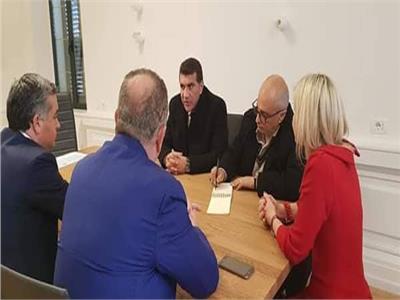 زيارة الاتحاد العربي لعمال النفط والمناجم والكيماويات إلى ألبانيا: