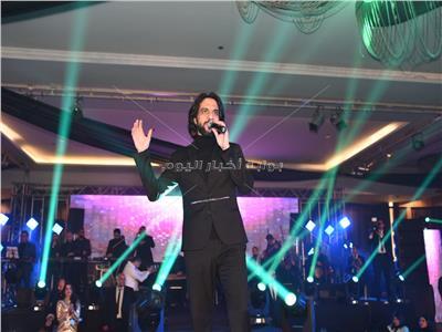 بهاء سلطان خلال الحفل