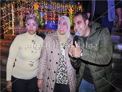 محمد عدوية خلال الحفل