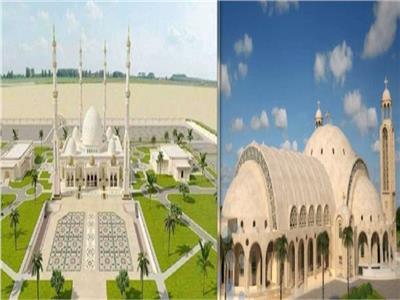 مسجد الفتاح العليم وكاتدرائية ميلاد المسيح